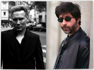 Maurice Dantec (a droite) attaque son editeur David Serra (dit Kersan) chez Ring