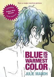 """Couverture de la traduction anglo-américaine de l'album """"Le Bleu est une couleur chaude"""""""