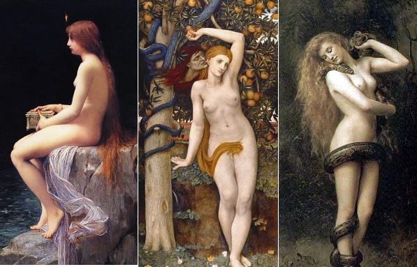 De Pandore à Eve en passant par Lilith, les mythes ont toujours façonné une femme a la séduction dangereuse.