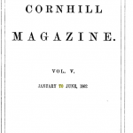 Cornhill Magazine - Gentlemen cover
