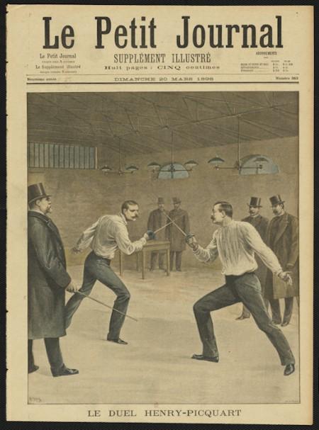 Le duel a connu son apogée au XIXe siècle, particulièrement en France. Une influence très perceptible dans