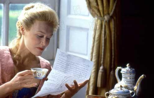 Madame de Merteuil (Glenn Close) dans la célèbre adaptation de Stephen Frears (1988)