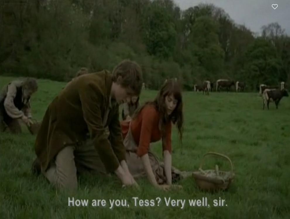Tess D'Ubervilles Thomas Hardy analyse